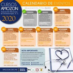 CALENDARIO 2020 CAMBIOS POR CONTINGENCIA